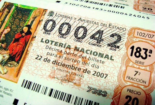 Los impuestos de la Lotería de Navidad